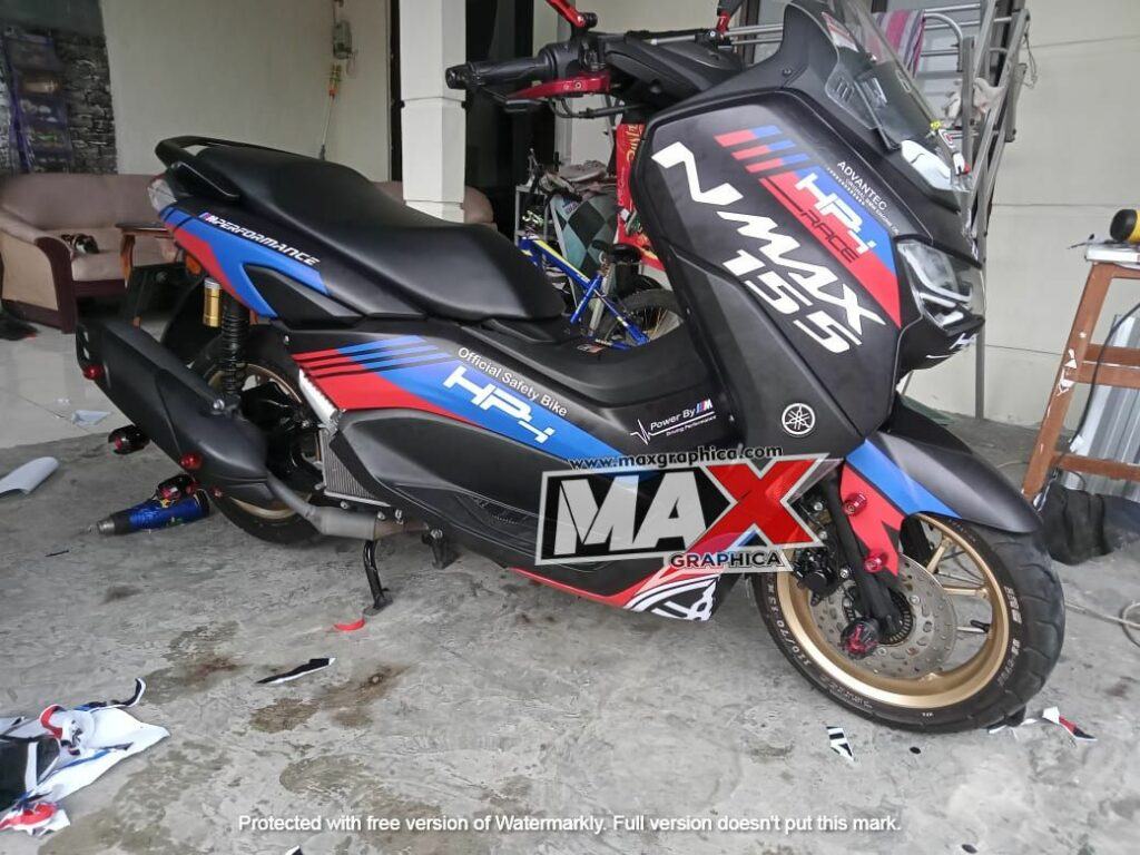 decal new nmax bmw 3 maxgraphica