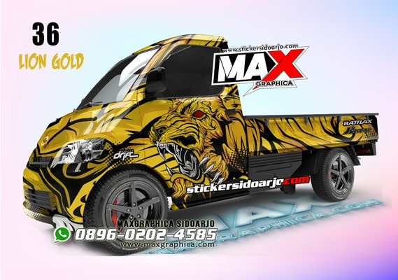 sticker grand max maxgraphica cutting sticker sidoarjo